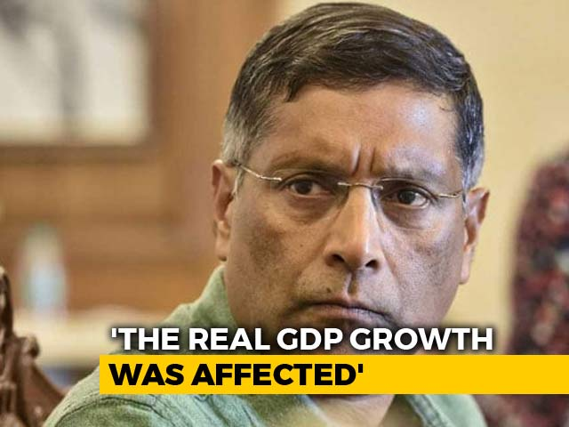 Video : Demonetisation Is A Draconian, Monetary Shock: Ex-Chief Economic Advisor