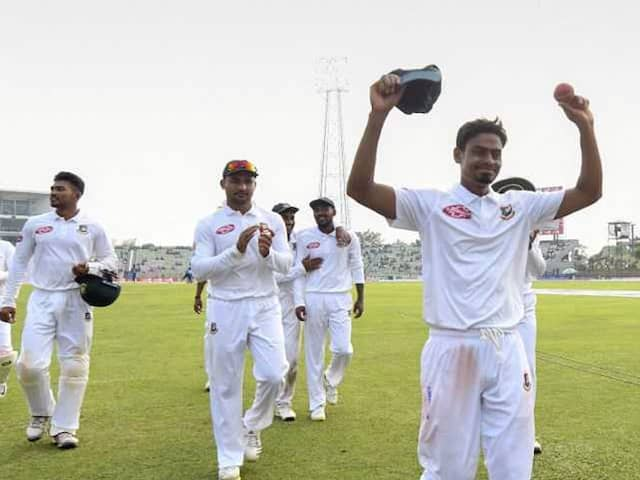 1st Test Day 3: Taijul Islams 11 Wicket-Haul Leads Bangladesh Fightback Against Zimbabwe