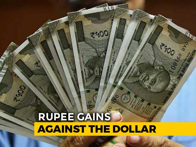 Video : Rupee At 1-Month High; Nifty Above 10,550