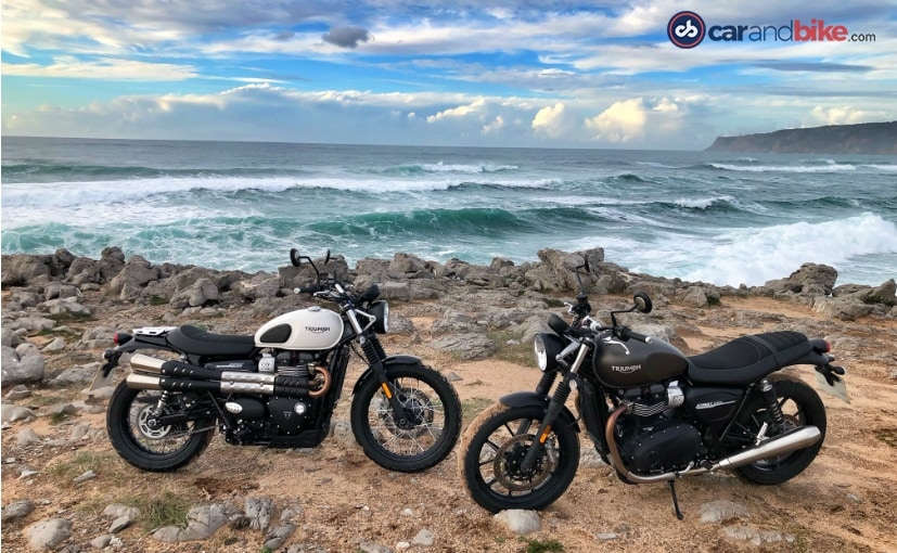 The 2019 Triumph Street Twin and Street Scrambler will be launched in early 2019