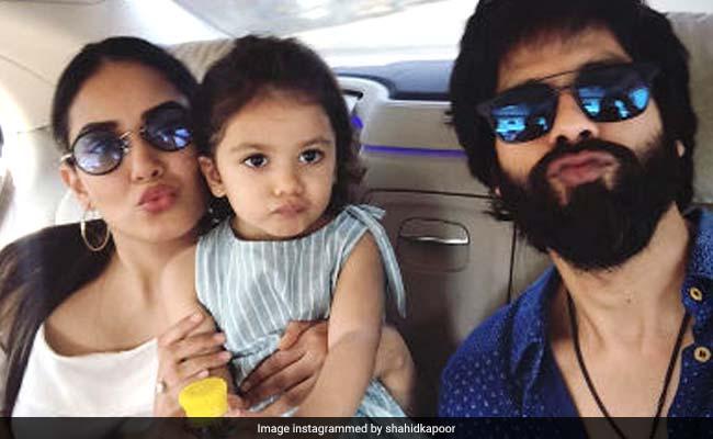 Shahid Kapoor, Mira Rajput And Misha's Selfie Is So, So Adorable
