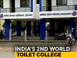 Video : World Toilet College In Aurangabad Aims To Train 5000 Sanitation Workers