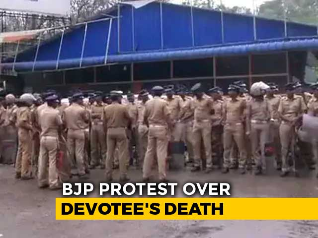 Video : Ayyappa Devotee Found Dead, BJP Calls Gor Strike In Kerala District