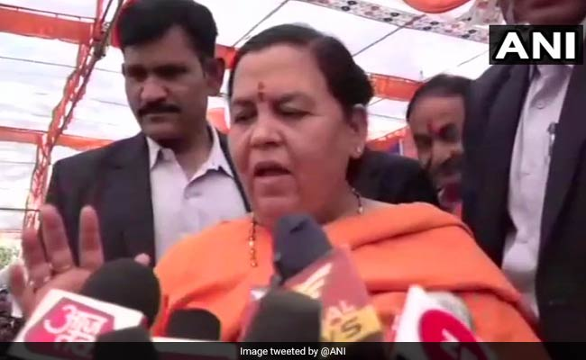 'BJP Doesn't Have A Patent On Ram Mandir': Union Minister Uma Bharti