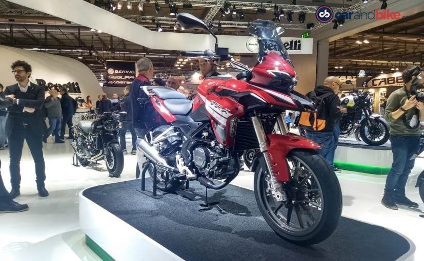 EICMA 2018: Benelli TRK 250 Unveiled