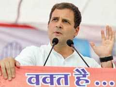 """Rahul Gandhi Says PM Insulted Nation, """"His Elite Friends"""" Escaped Charges"""