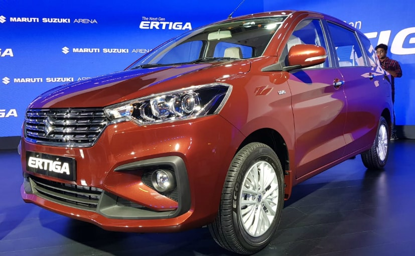 New Maruti Suzuki Ertiga 2018 is shares its platform with the 2018 Swift and Baleno.