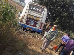 3 Killed, 30 Injured As Bus Falls From Bridge In Madhya Pradesh