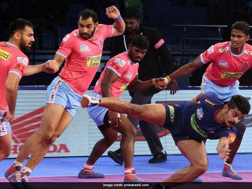 PKL: Jaipur Pink Panthers Beat Haryana Steelers, UP Yoddha Hold Telugu Titans