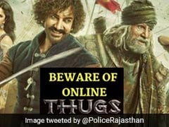 Rajasthan Police's Message On Cyber Safety Has A <i>Thugs Of Hindostan</i> Twist