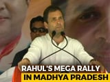 "Video : In Chhattisgarh, Rahul Gandhi Calls Notes Ban Biggest ""Scam"""