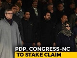 Video: Ready To Stake Claim With Omar Abdullah, Congress, Tweets Mehbooba Mufti