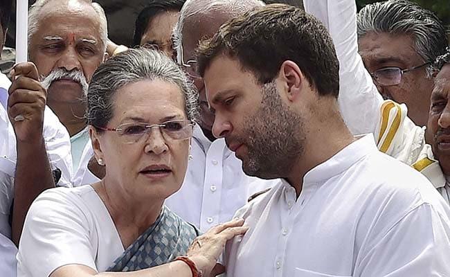 Sonia Gandhi, Son Rahul To Skip Grand Alliance Rally In Kolkata