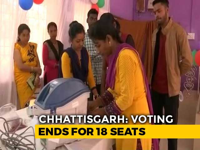 Video : Around 70% Polling In Chhattisgarh Phase 1 Amid Maoist Threat