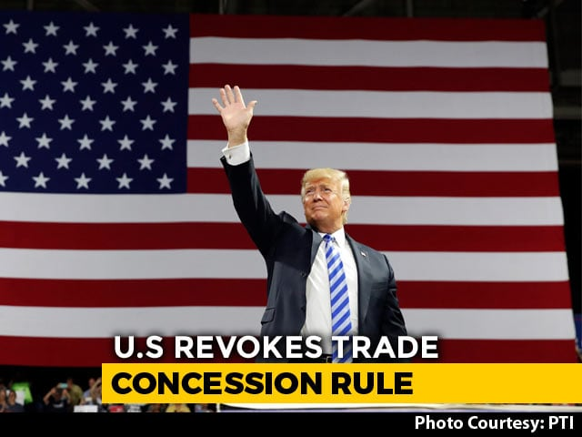 Video : India Worst Hit As US Removes Duty-Free Privileges On Import Of 90 Items