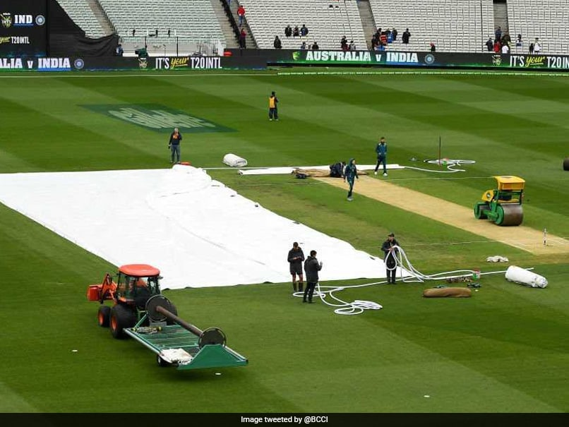 Second T20I Abandoned Due To Rain, Australia Lead Series 1-0 vs India