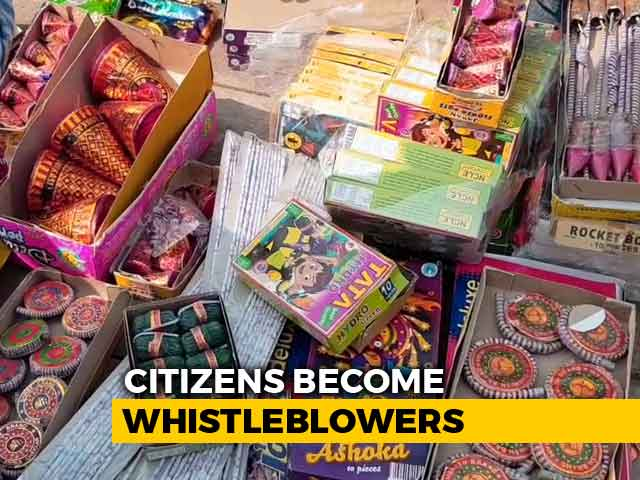 Video : Delhi Police Seize More Than 3,800 Kg Of Firecrackers, 26 Arrested