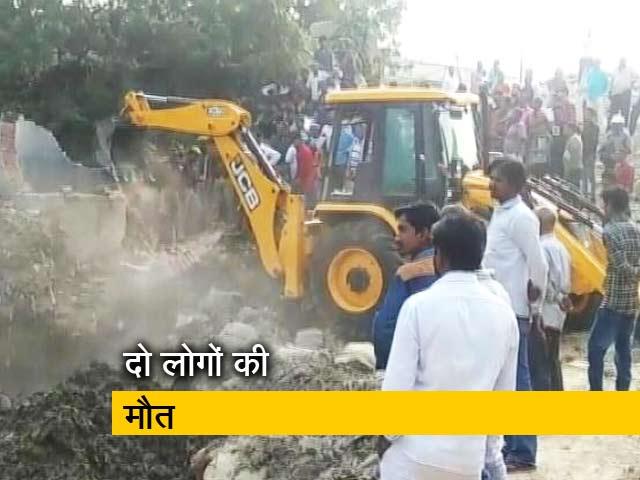 Videos : वाराणसी : पाइप लाइन में तीन मजदूर बहे