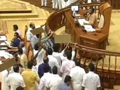 Opposition Congress Creates Noisy Scenes Over Sabarimala in Kerala Assembly
