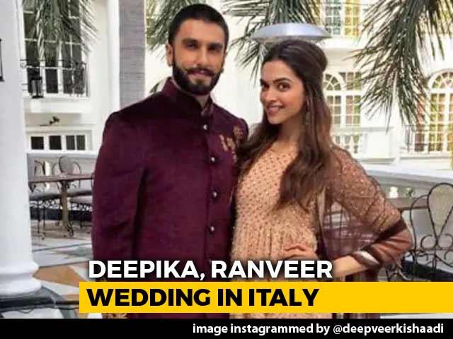 Video : Deepika & Ranveer Are Married! Take A Look At Their Fairytale Love Story