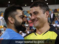 Mitchell Johnson Comes Up With Hilarious Caption For Virat Kohli-Marcus Stoinis Picture
