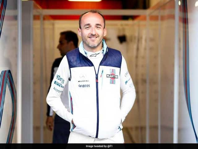 Robert Kubica Returns To F1 Eight Years After Being Injured In A Crash