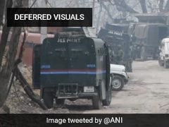 Terrorist Shot Dead In Encounter In Jammu and Kashmir's Pulwama
