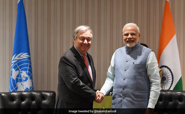 India To Play Responsible Role At Climate Talks: PM Modi To UN Chief
