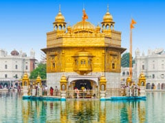 Devotees Throng Golden Temple On 550th Birth Anniversary Of Guru Nanak