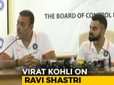"Video: ""Bizarre"": Virat Kohli On Ravi Shastri Being Called A Yes Man"