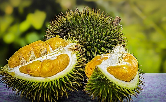 Indonesian plane delayed because of durian fruit