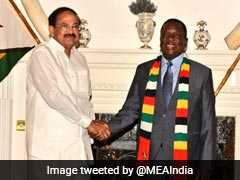 Venkaiah Naidu Meets Zimbabwe President, Signs 6 Agreements