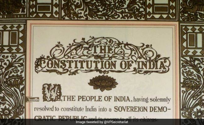 Madhya Pradesh Students To Recite Preamble To Constitution Every Saturday