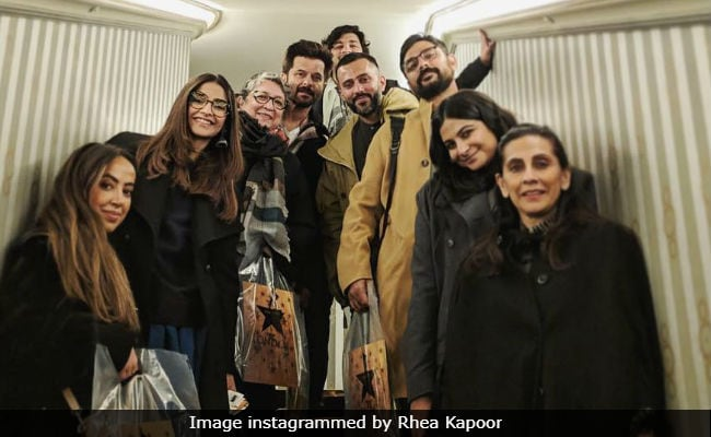 This Diwali, Anil Kapoor, Sonam-Anand, Rhea And Sunita Light Up 'London Nights'