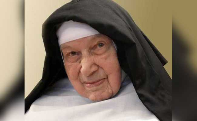World's Oldest Nun, Who Hid Jews From Nazis During World War II, Dies