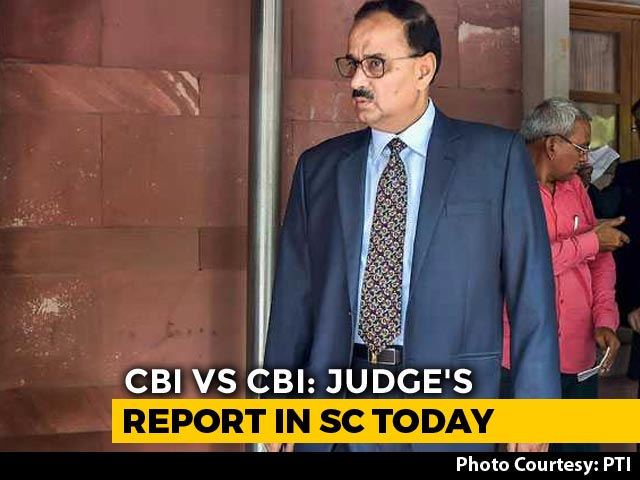 Video : Supreme Court To Hear Corruption Watchdog's Version In CBI Case Today