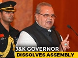 "Video : J&K Assembly Dissolved After Bids By ""Grand Alliance"" vs Sajad Lone + BJP"