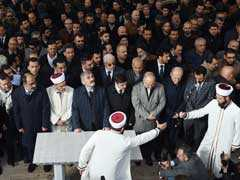 At Khashoggi's 'Symbolic' Funeral, An Empty Platform In Place Of Coffin