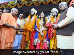 """Light <i>Diyas</i> For Lord Ram"": Yogi Adityanath's Teaser For Diwali"
