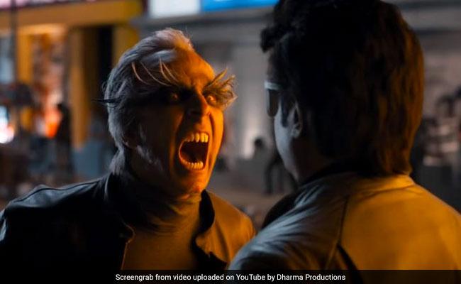 2.0 Trailer: रजनीकांत से भिड़े अक्षय कुमार, 2 करोड़ से ज्यादा बार देखा गया ट्रेलर