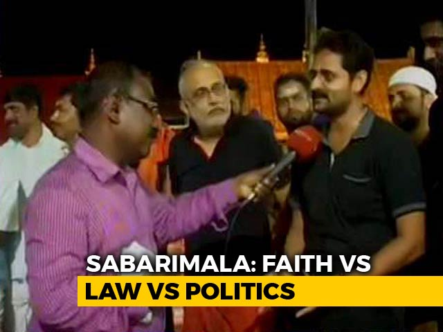 Video : What Sabarimala Devotees Think Of Allowing All Women To Visit Kerala Temple