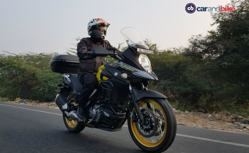 The Suzuki V-Strom 650 XT is the latest middleweight adventure bike in India
