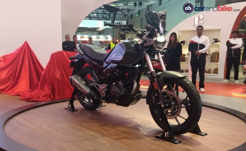 The Hero XPulse 200T touring motorcycle will be launched in early 2019