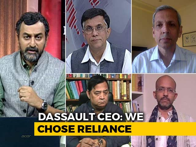 Video : Does Dassault CEO's Defence On Rafale Deal Add Up?