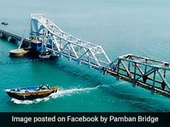 Iron Rope Of Rameshwaram's Pamban Bridge Snaps, 1 Injured