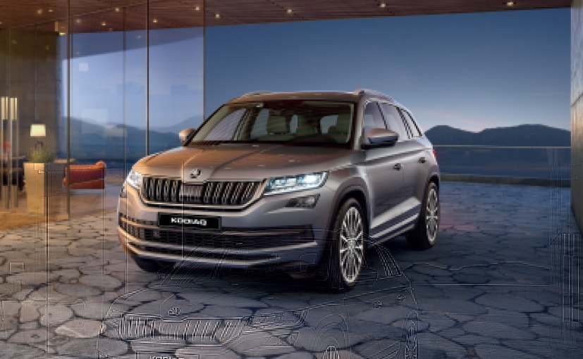 skoda kodiaq laurin klement launched in india priced at. Black Bedroom Furniture Sets. Home Design Ideas
