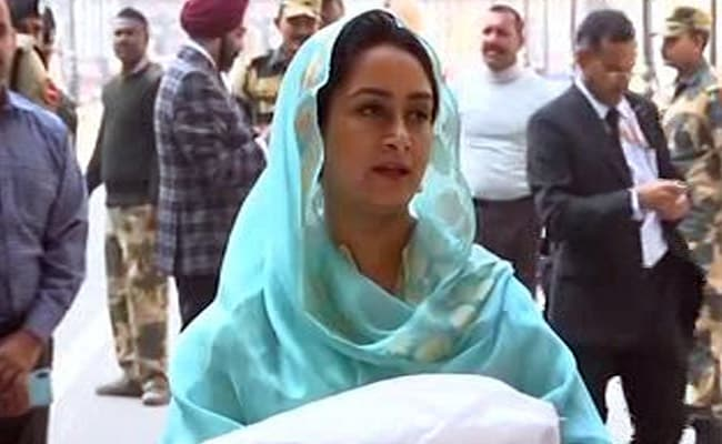 'No One Bowled Over By Googly': Harsimrat Badal On Pak Minister's Comment