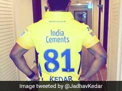 Kedar Jadhav Thanks CSK For Retaining Him For Upcoming Season