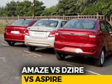 Video : Which Car Should I Buy? – Honda Amaze vs MS Dzire vs Ford Aspire