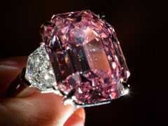 Rare Pink Diamond May Rake In $50 Million In Auction
